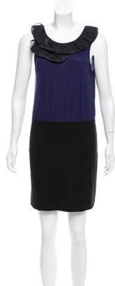 Theory Ruffle-Trimmed Sleeveless Dress