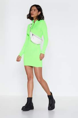 Nasty Gal Watch My Zips Mini Dress