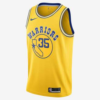 Nike Men's NBA Connected Jersey Stephen Curry Classic Edition Swingman (Golden State Warriors)