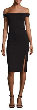 Polo Ralph Lauren Off-The-Shoulder Dress $198 thestylecure.com