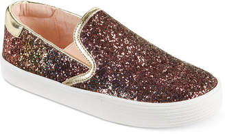 Kenneth Cole Kam Slip-On Glitter Sneakers, Little & Big Girls