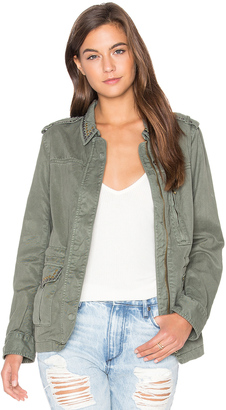 Sanctuary Studded Military Jacket $189 thestylecure.com