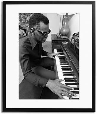 Sonic Editions Ray Charles at Home Framed Photo