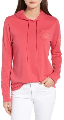Women's Vineyard Vines Graphic Hooded Tee $55 thestylecure.com
