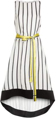 Amanda Wakeley Ribbon Stripe Midi Dress
