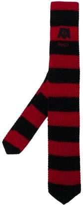 Gucci striped knit scarf