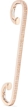 Repossi Staple 18-karat Rose Gold Diamond Ear Cuff