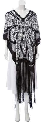 Gucci Printed Satin Cover-Up
