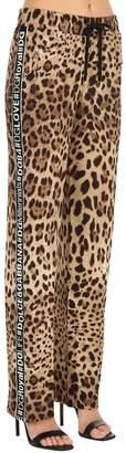 Dolce & Gabbana Logo Bands Leo Stretch Cady Sweatpants