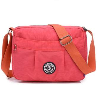 6e6a87d0ccc2 at Amazon Canada · TianHengYi Small Water Resistant Women s Cross-body  Shoulder Bag Lightweight Nylon Fabric Messenger Bag Watermelon