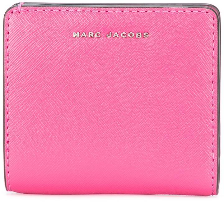 Marc JacobsMarc Jacobs bi-colour open face billfold wallet