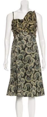 Just Cavalli Silk Sleeveless Dress