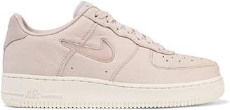 Nike Force 1 Jewel Leather Platform Sneakers