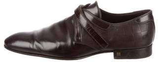 Louis Vuitton Damier Leather Loafers