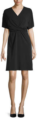 WORTHINGTON Worthington Short Sleeve Blouson Dress