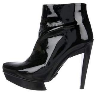 Michael Kors Patent leather Ankle Boots Black Patent leather Ankle Boots