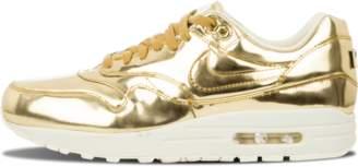 Nike Womens Air Max 1 SP 'Liquid Gold' - Metallic Gold/Sail