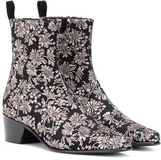 148a142f221 Pierre Hardy Reno floral brocade ankle boots