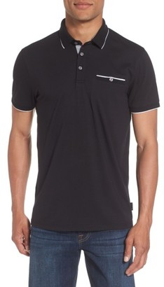 Men's Ted Baker London Derry Modern Slim Fit Polo $99 thestylecure.com