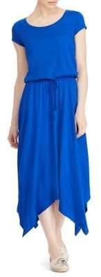 Lauren Ralph Lauren Cotton Blend Shirt Dress