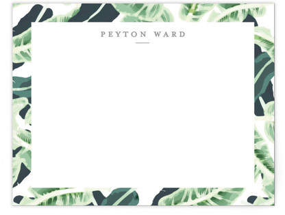 Tropical Wishes Personalized Stationery