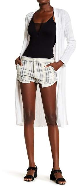 Free People Casual Stripe Shorts