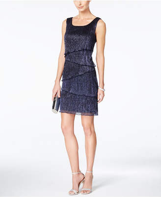 Connected Sleeveless Tiered Sheath Dress $79 thestylecure.com