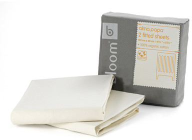 Bloom Alma Papa Organic Fitted Sheet