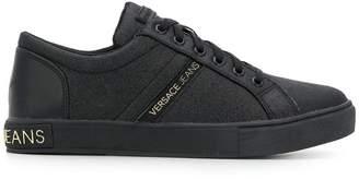 Versace side logo sneakers