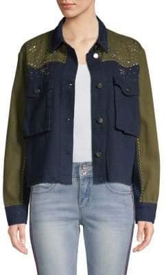 Western Long-Sleeve Cotton Jacket