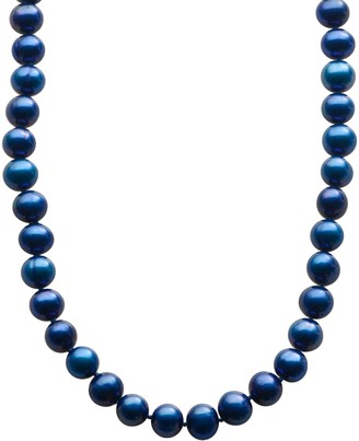 Pearlustre By Imperial PearLustre by Imperial Dyed Freshwater Cultured Pearl Sterling Silver Necklace