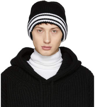 Maison Margiela Black Knit Beanie