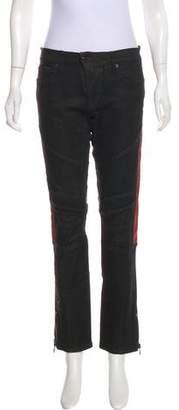 Ralph Lauren Mid-Rise Moto Jeans