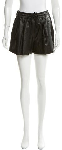 3.1 Phillip Lim 3.1 Phillip Lim Leather High-Rise Shorts w/ Tags