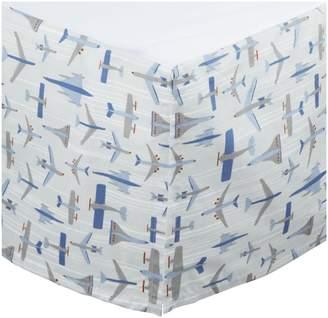 DwellStudio Dwell Studio Percale Crib Skirt