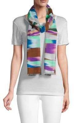 Missoni Abstract-Print Cotton Scarf