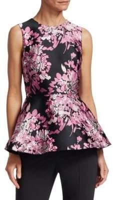 Dolce & Gabbana Floral Peplum Top