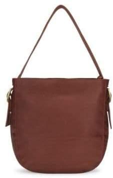 Brandy Leather Shoulder Bag