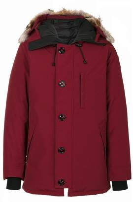 Canada Goose hood trim down coat