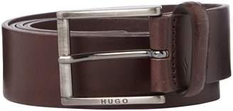 HUGO BOSS Geid Casual Smooth Leather Belt