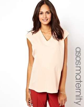 Asos Top with Plunge Neck