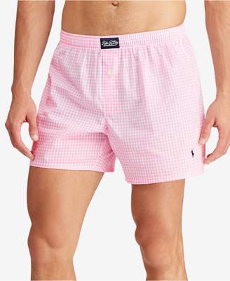Polo Ralph Lauren Men's Gingham Cotton Boxers