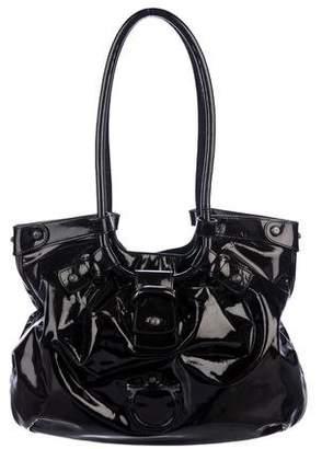 da90a2ae7c7e Pre-Owned at TheRealReal · Salvatore Ferragamo Patent Leather Shoulder Bag