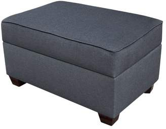 Latitude Run Anke Fabric Storage Ottoman