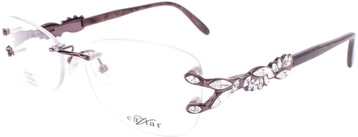 Gray Caviar Optical Eyeglass Frames