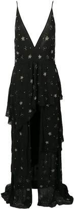 Amiri black embroidered dress