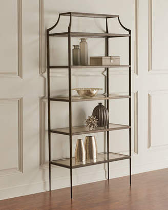 Global Views Mansard Metal Etagere