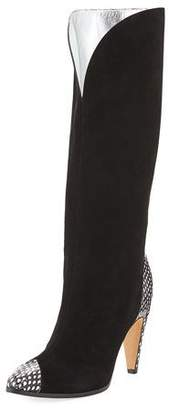 Givenchy Metallic Knee-High Boot
