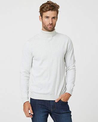 Le Château Tonal Cotton Turtleneck Sweater