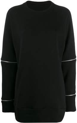 Y's zip detail sweater